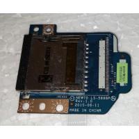Картридер з ноутбука Acer Aspire 5742G 5250 5251 5741 5742 5551 5552 E640 TE11 TM80 TM81 LS-5898P