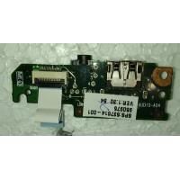 Аудіо і звук плата с USB с шлейфом HP MINI 110