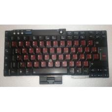 Клавіатура з ноутбука Lenovo ThinkPad T500, R500, T42, R60, R61, T60, T400, T61, R400 93T7453 N55