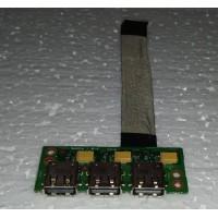 USB роз'єм ноутбука Fujitsu Esprimo v6515 6050A2209301 із шлейфом
