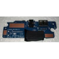 Плата USB AUDIO cardreader з ноутбука Captiva 14.1 z8350 i5-n1401-usb-con-v2.3 з шлейфом