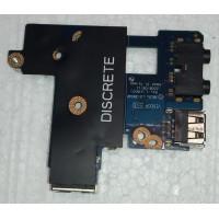 Плата USB, аудіо, LAN ноутбука DELL LATITUDE E6400 LS-3804P
