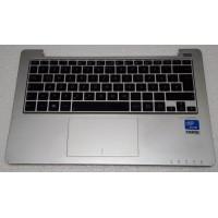 Верх корпуса ноутбука ASUS F201E з тачпадом, клавіатурою, колонками