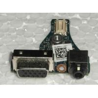 Роз'єм VGA Video Audio ноутбука DELL LATITUDE E6430S LS-7741P 0FRFCY FRFCY